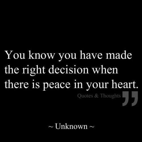 Peace In Your Heart